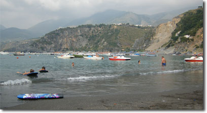 Beach in San Nicola